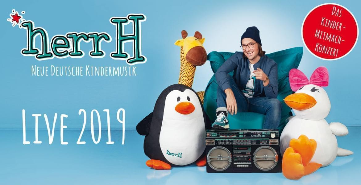 Tickets herrH, Neue Deutsche Kindermusik – Live 2019 & 2020 in Hiddenhausen