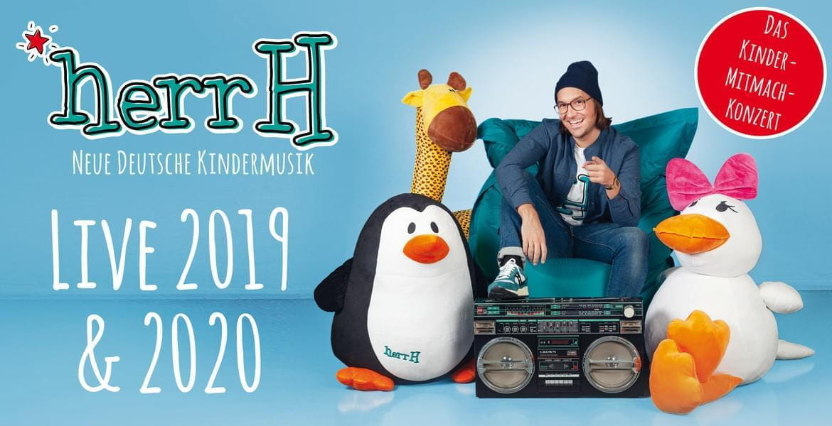 Tickets herrH, Neue Deutsche Kindermusik – Live 2019 & 2020 in Langenberg